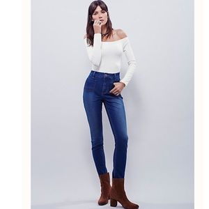 Free people Beverly high rise skinny jean